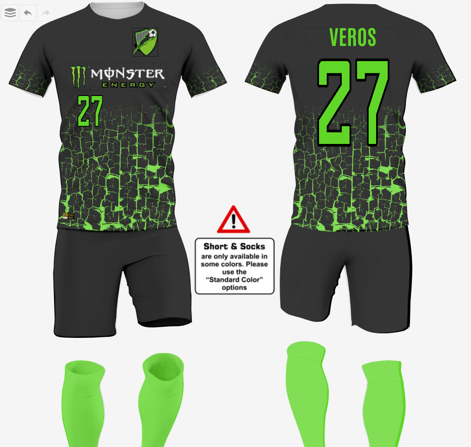 Custom Soccer Uniform Designs