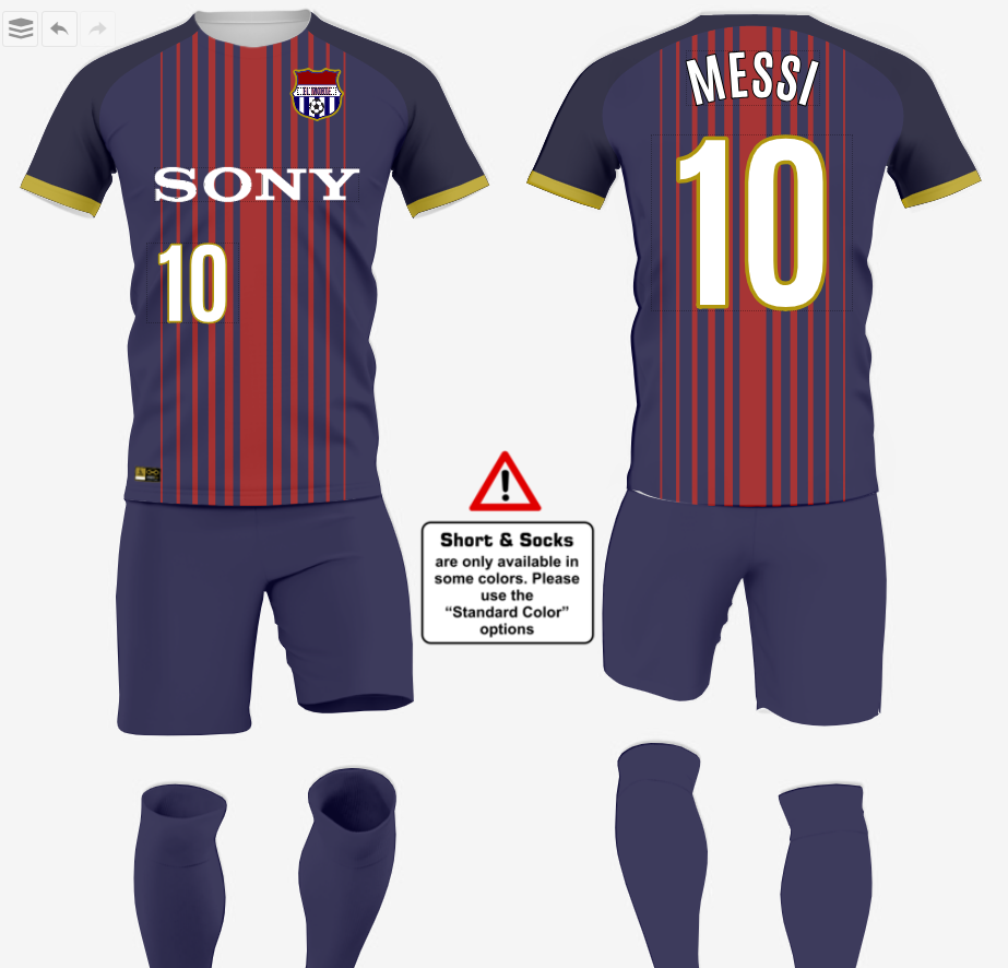 Soccer Uniform Ideas