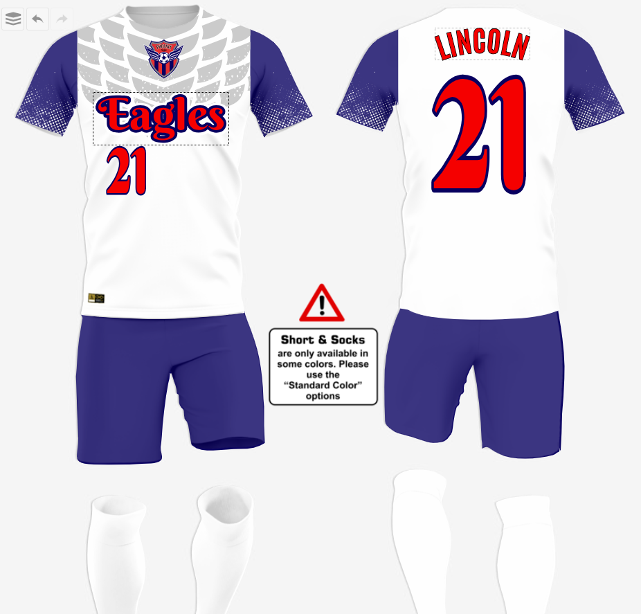 New Soccer Uniform Designs
