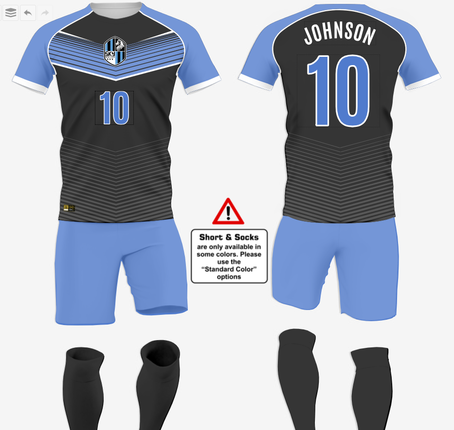 Design soccer jersey today