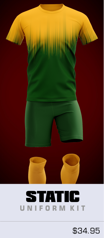Static Customizable Soccer Uniform