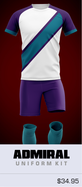 Admiral Customizable Soccer Uniform