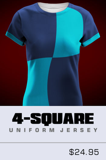 Womens 4 Square Jersey Thumbnail